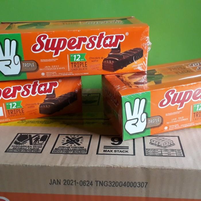 Foto Produk Super star wafer coklat 216gr dari Sumber Berkah Boga