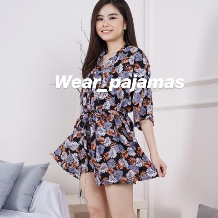 Foto Produk PIYAMA KIMONO 3in1 MOTIF IZZIE dari Wear Pajamas