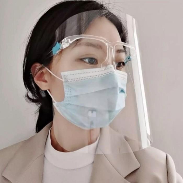 Foto Produk FACESHIELD / Face Shield Kacamata / APD Mask / Safety Mask dari Kiddies World