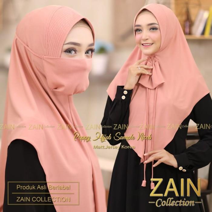 Jual Jilbab Instan Niqab Poppy Hijab Khimar Bergo Cadar Murah Terbaru Kota Bandung Alamak Hijab Tokopedia