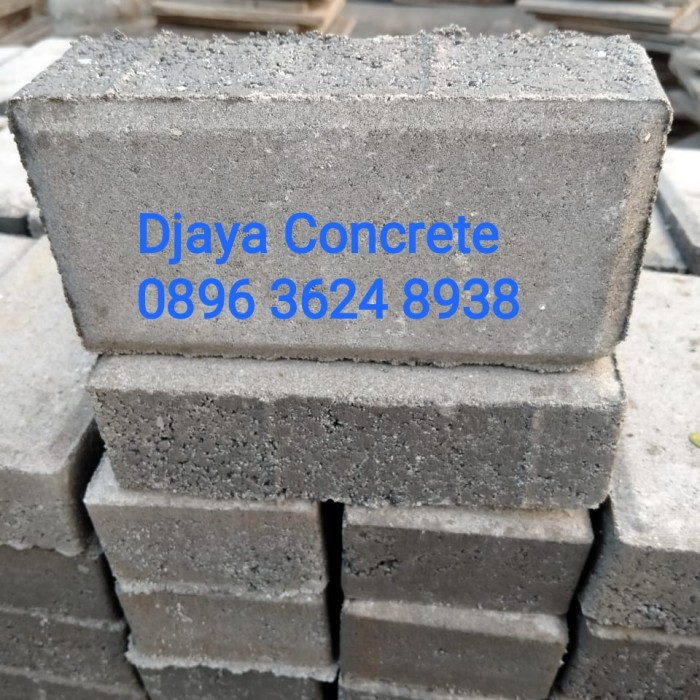 Jual PAVING BLOCK CON BLOCK BATA TEBAL 6 CM - Abu-abu - Jakarta Barat - Djaya Concrete  Tokopedia