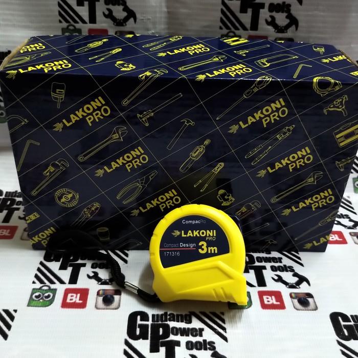 Foto Produk Meteran 3meter Measuring Tape Alat Ukur 3meter dari GudangPowerTools