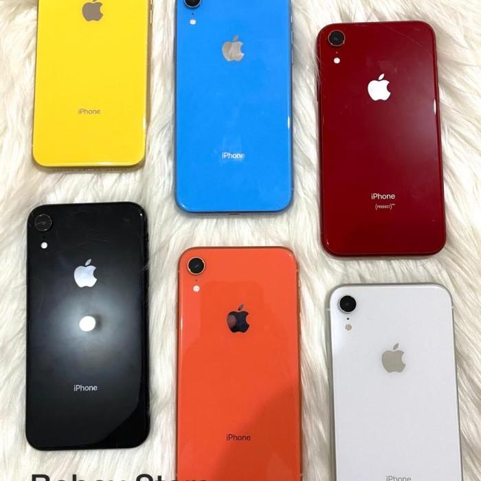 Foto Produk Iphone XR 64gb Bekas Fullset - 64 gb, Merah dari Boboy Store