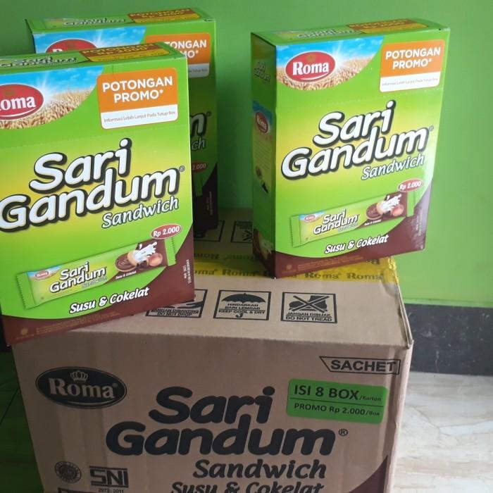 Foto Produk Roma Sari Gandum Sandwich 2000(468 gr) dari Sumber Berkah Boga