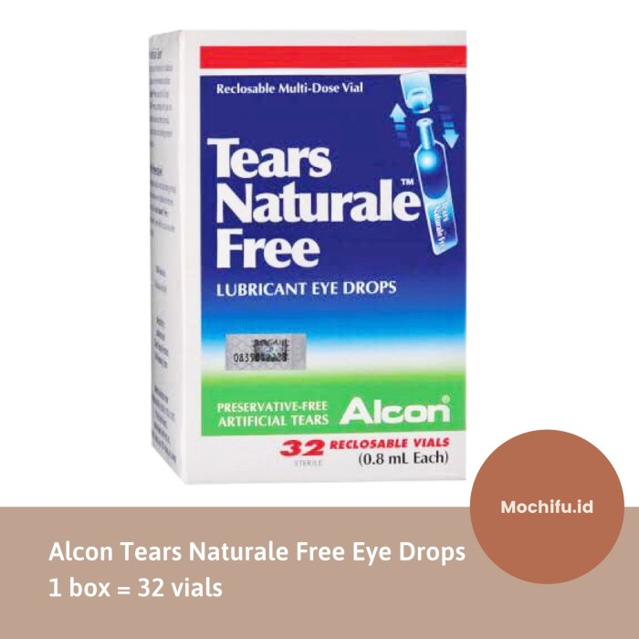 Jual Alcon Tears Naturale Isi 32 Vials Lubricant Eye Drops Artificial Tears Jakarta Utara Mochifu Id Tokopedia