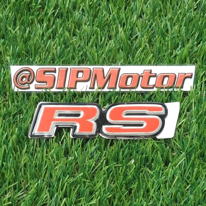 Foto Produk Emblem Logo RS Honda Mobilio Jazz Brio New Non Orisinil dari SIPMotor