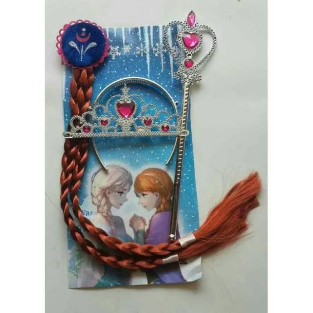 Foto Produk set mahkota Anna Frozen dari baby&kids'shop