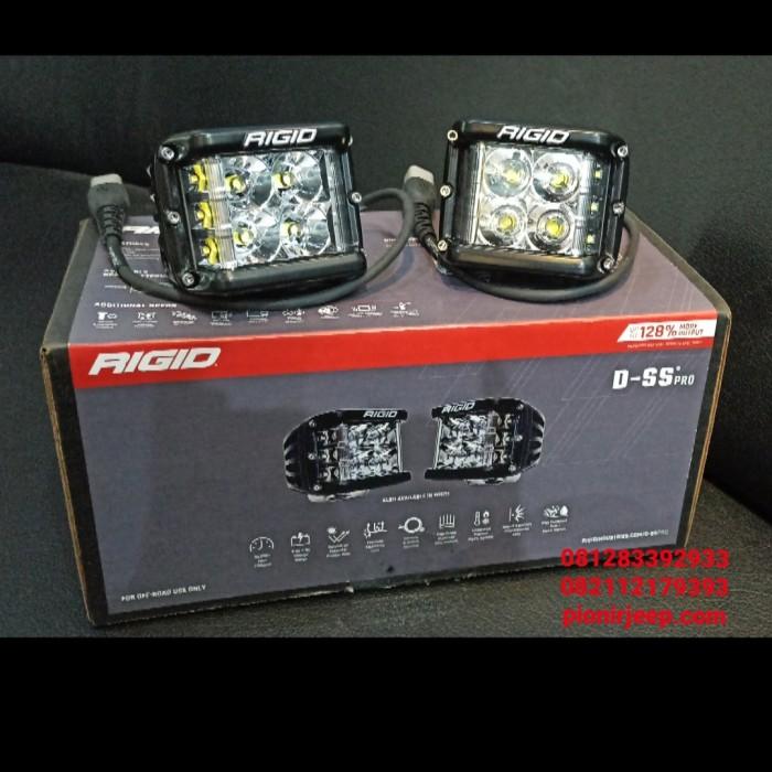 Foto Produk Lampu Tembak LED DSS / Rigid D-Side Shooter Spot Original USA dari PIONIR JEEP