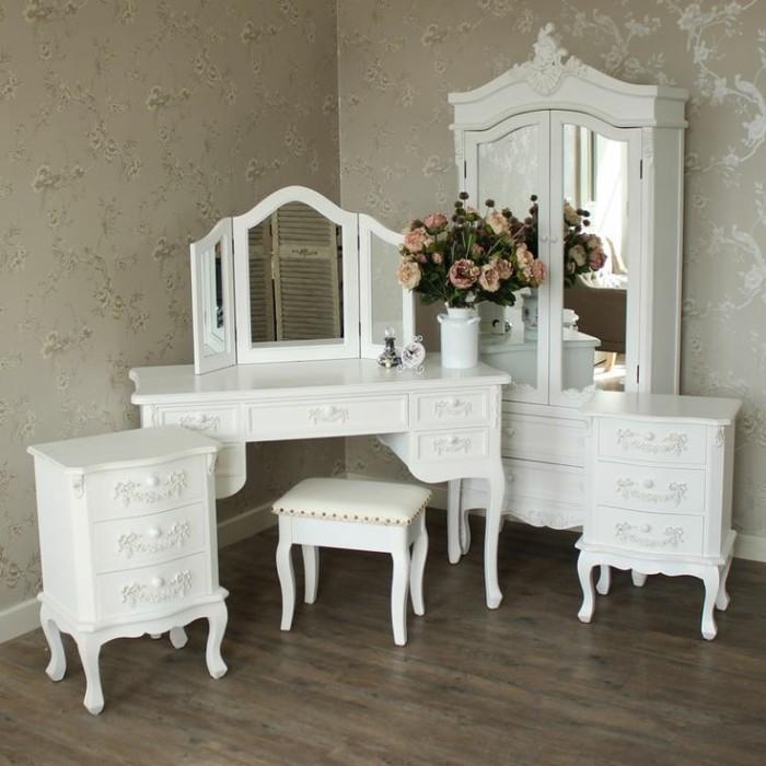 Jual White Bedroom Furniture Set Kab Jepara Pandawa Furniture 99 Tokopedia