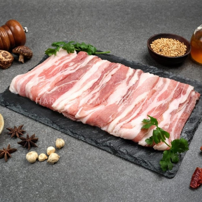 Foto Produk samcan pork belly sliced 0.3cm dari YYPORK