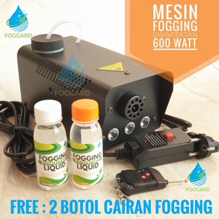 Foto Produk Alat Mesin Fogging Mobil Ruangan / Fogging Machine / Mesin Asap 600 W dari Cross Bike & Hobbies
