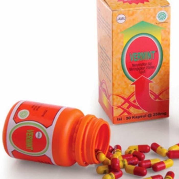 Foto Produk Vermint 12 Kapsul Obat Tipes Dan penurun panas / demam tinggi dari GUDANG HERBAL MALANG