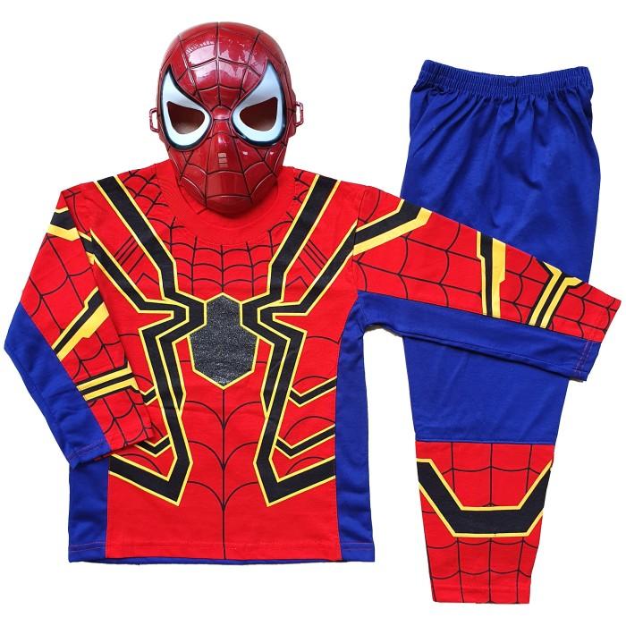 Foto Produk Baju Anak Kostum Topeng Superhero Spiderman - Size 6 dari BelalangKupuKupu