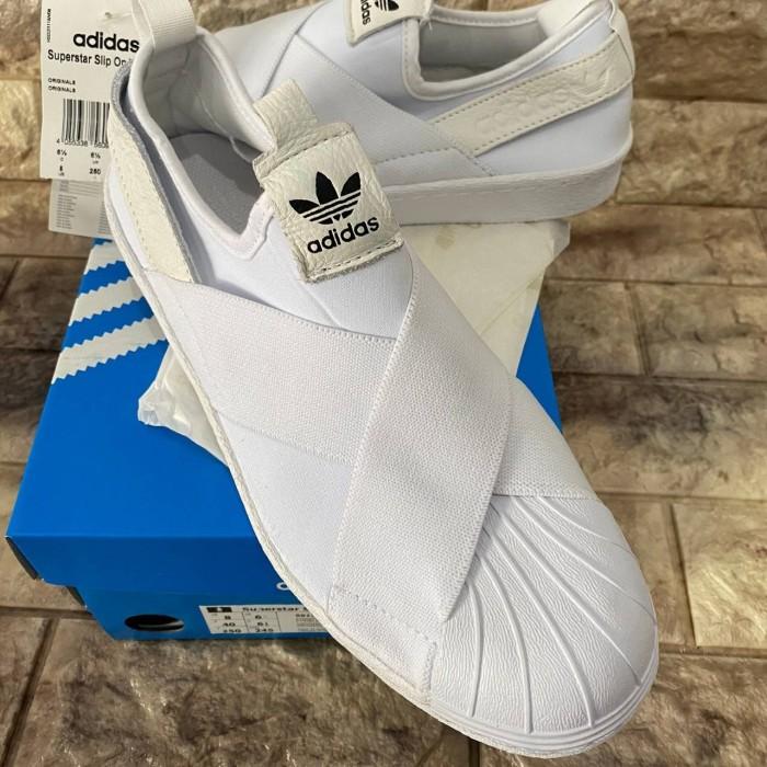 """Jual Adidas Superstar Slip On """" All"""