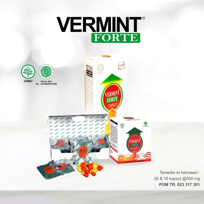 Foto Produk vermint forte 30 kapsul dari jpsw herbal