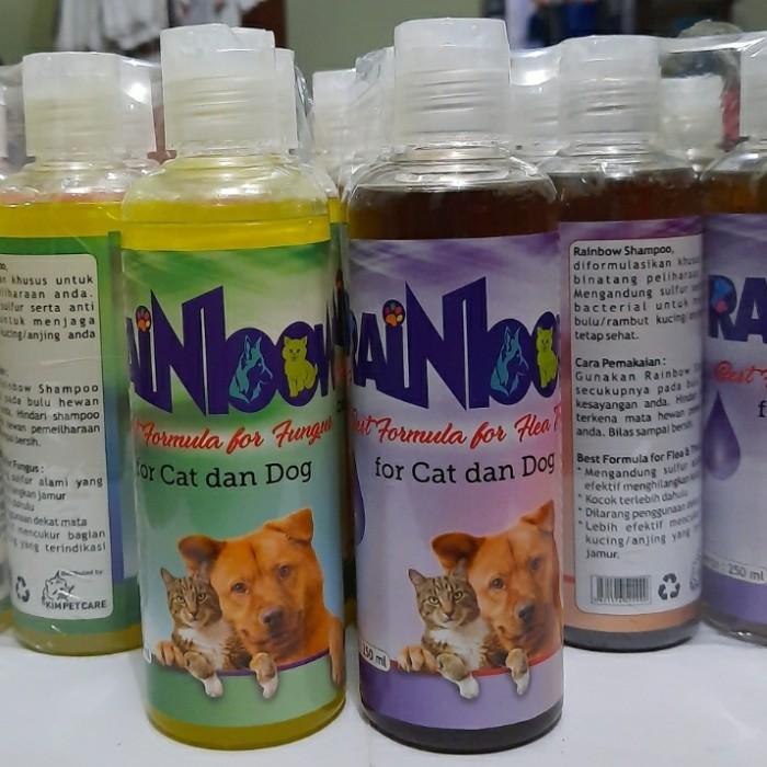 Jual Shampo Kucing Dan Anjing Rainbow Anti Kutu Dan Jamur 250ml Anti Kutu Jakarta Timur Simba Pet Shop Tokopedia
