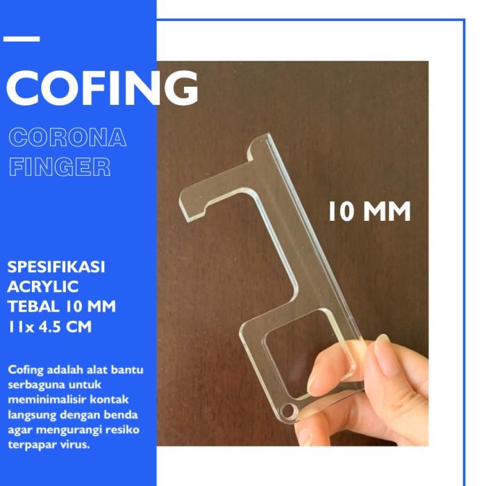 Jual Corona Finger 10 Mm Cofing Alat Bantu Serbaguna Cegah Covid 19 Kota Tangerang Acrylic Acs Tokopedia