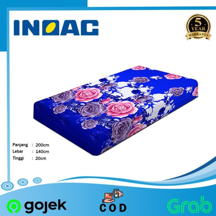 Foto Produk Kasur Busa INOAC 140x200x20 - KASUR BUSA INOAC - INOAC MURAH dari smarthomeid