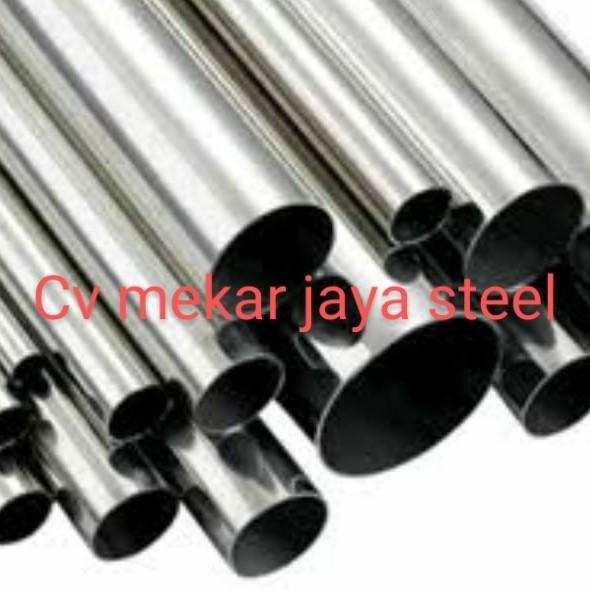 Jual Pipa Stainless Steel Bulat Ornamen 304 Diameter 2 X Tebal 1 2mm 10cm Jakarta Barat Keong Buntet Tokopedia