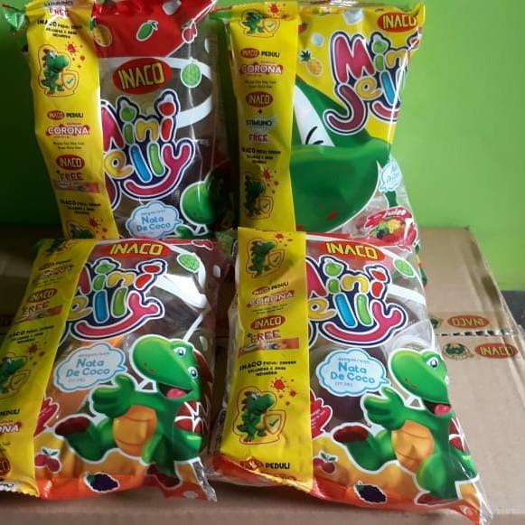 Foto Produk Inaco Mini Jelly 25 cup dari Sumber Berkah Boga