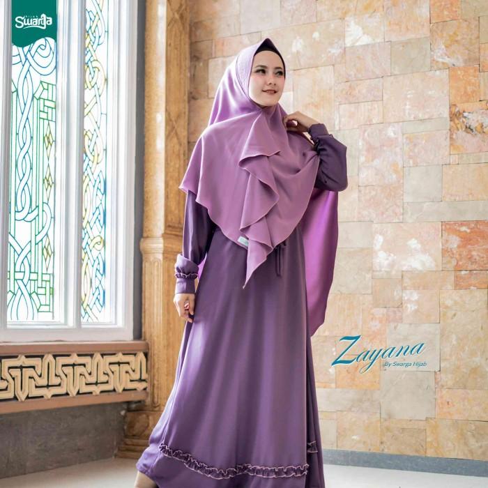Jual Zayana Gamis Set Original By Swarga Hijab Syar I Kab Tulungagung Rna Galery Tokopedia