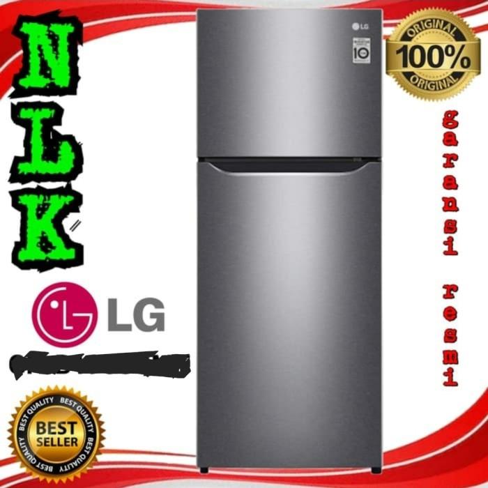 Foto Produk Kulkas LG GN-B 185 SQBB 2 Pintu INVERTER NOFROST GN-B185SQBB Lemari Es dari NLK