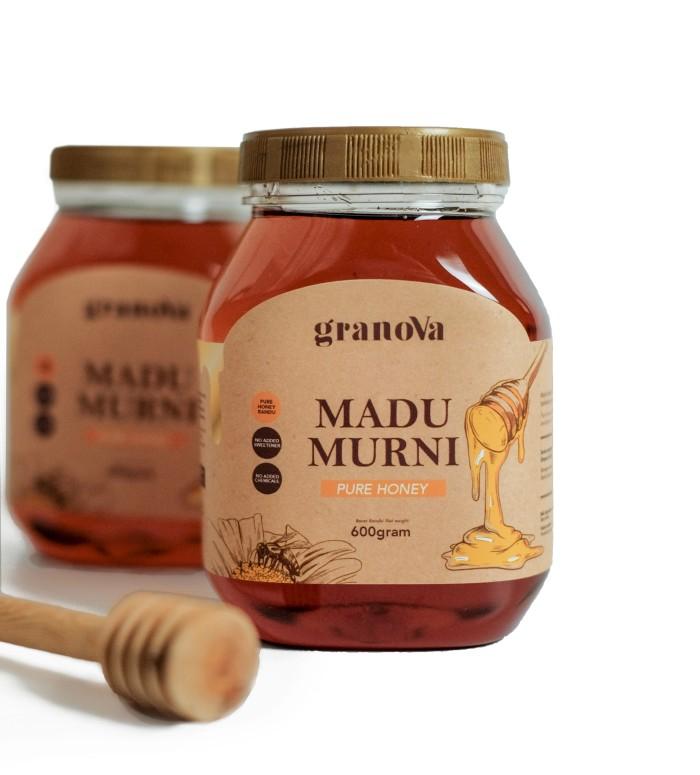 Foto Produk Pure Honey / Madu Murni Randu 600 gram dari Granova Granola