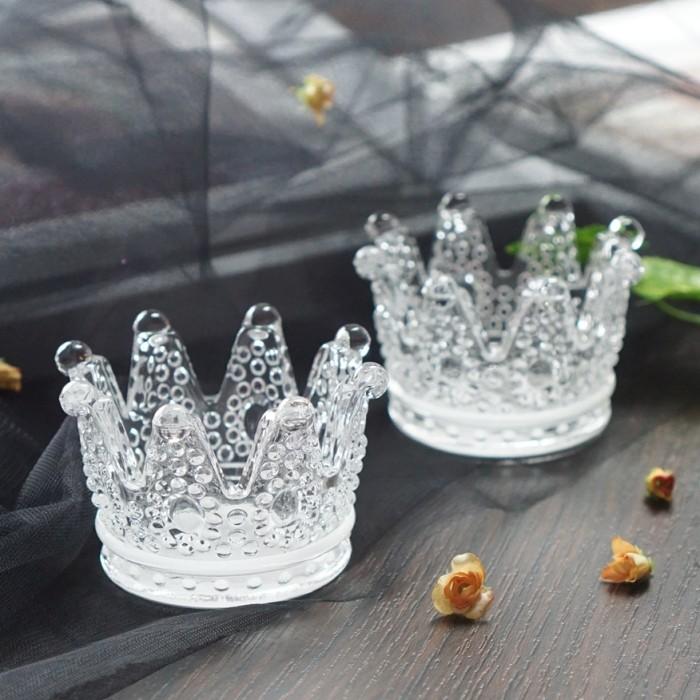 tempat lilin unik mahkota