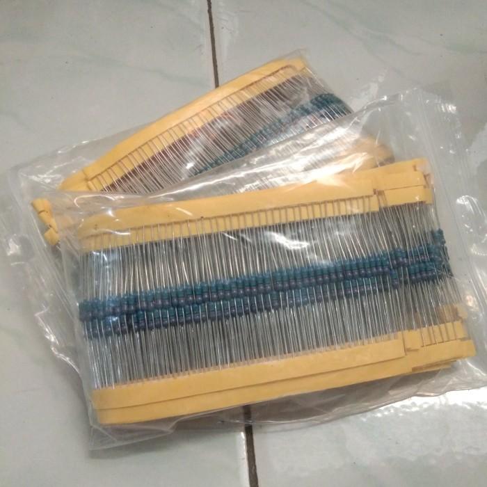 Foto Produk resistor metal film 1k 1/4w 1% dari versus box mod supply