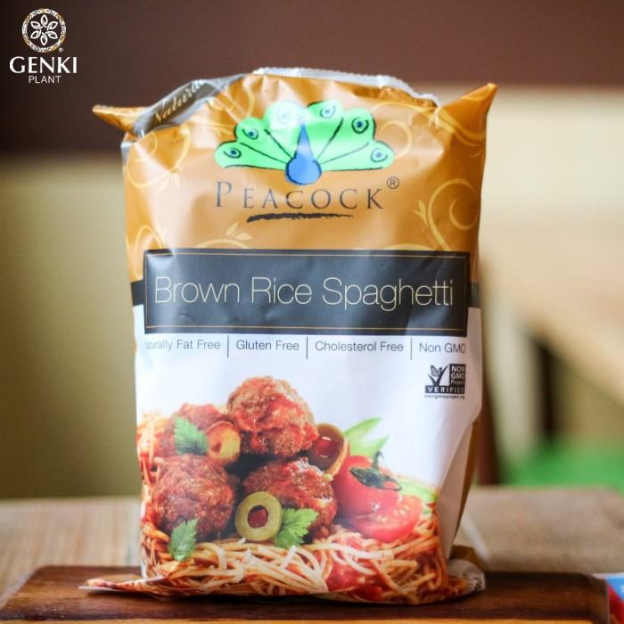 Foto Produk Peacock Brown Rice Spaghetti - 200 g dari Genki Plant