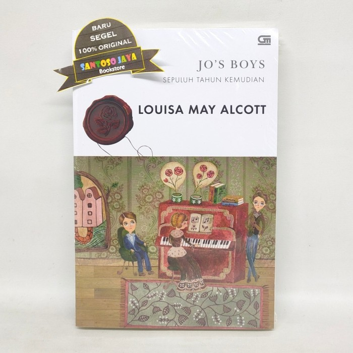 Foto Produk Classics - Sepuluh Tahun Kemudian - Jo's Boys - by Louisa May Alcott dari Santoso Jaya Bookstore