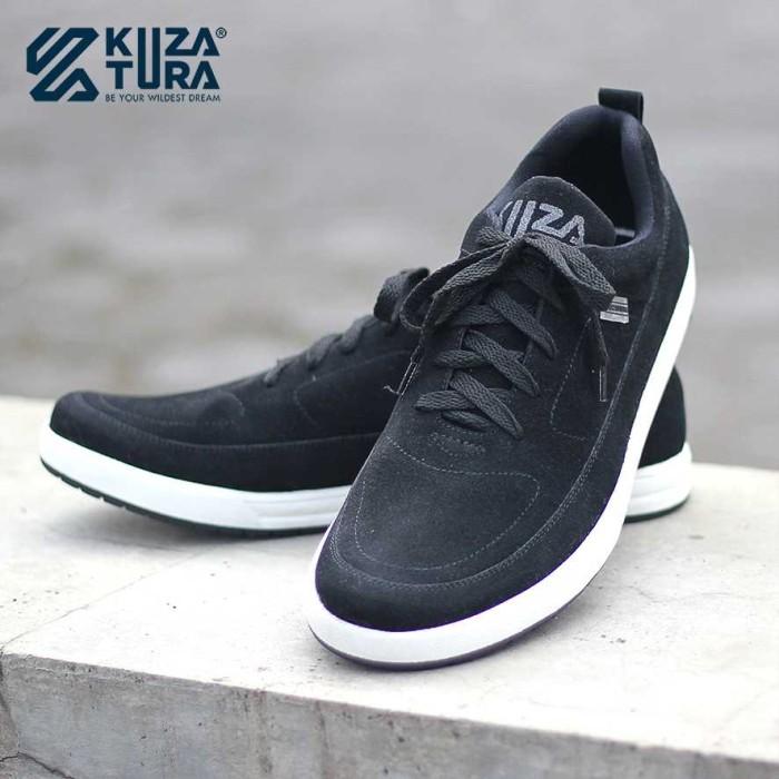 Foto Produk Sepatu Sneakers pria KUZATURA NC / Sepatu kasual / sepatu kets - Hitam, 39 dari Queen's need