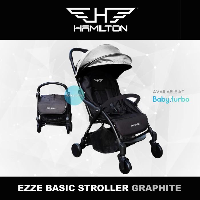 Jual Baby Stroller Hamilton Ezze Khusus GOSEND - Graphite ...