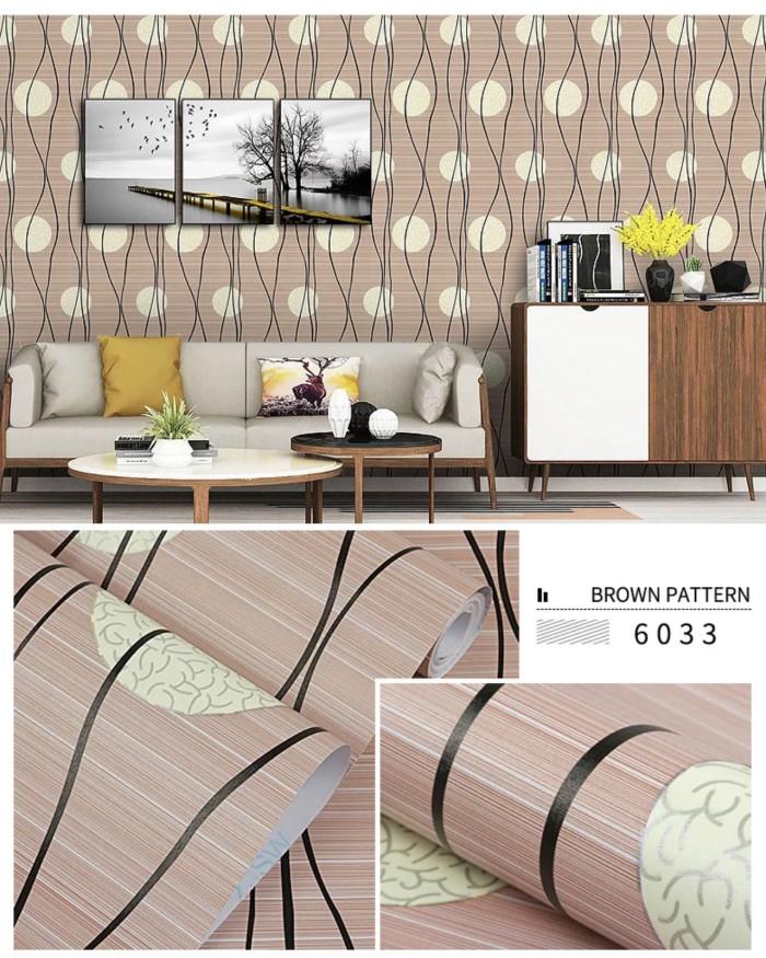 Jual Wallpaper Dinding Sticker Dekorasi Ruang Tamu GG 124-1 - Jakarta Pusat - Galleria Gorden Lighting   Tokopedia