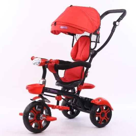 Foto Produk Sepeda Stroller Bayi KIDDO TC203T New - Merah dari Jaya 77