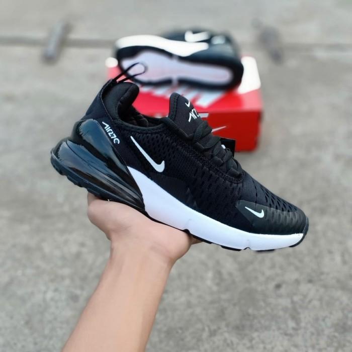 Jual Nike Air 27c Black Pria - Hitam