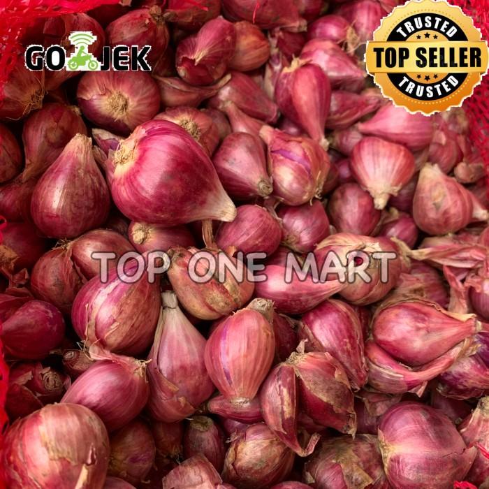 Foto Produk BAWANG MERAH UKURAN CAMPUR 1KG dari Top One Mart