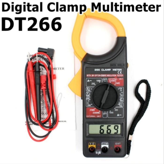Foto Produk Tang Ampere Digital Clamp Multimeter dari GG outlet