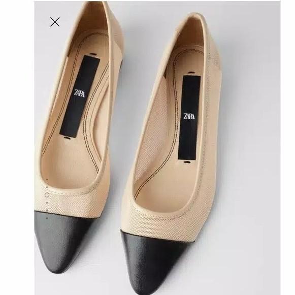 Foto Produk Zara Shoes Flat Women LS26 free box - tanpaPaperbag dari Lexamora_shoes