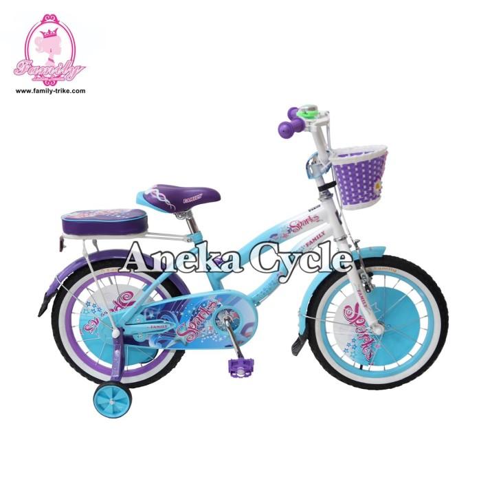 Jual Sepeda Anak Roda Empat Perempuan Cewek Family Spark