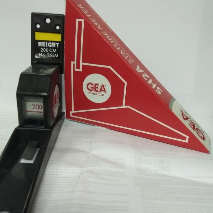 Foto Produk Stature Meter Gea Medical 2 Meter /Alat ukur Tinggi Badan/StatureMeter dari Vintaco