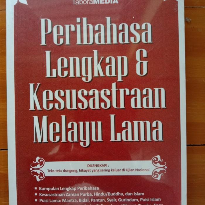 Jual Peribahasa Lengkap Dan Kesusastraan Melayu Lama Kota