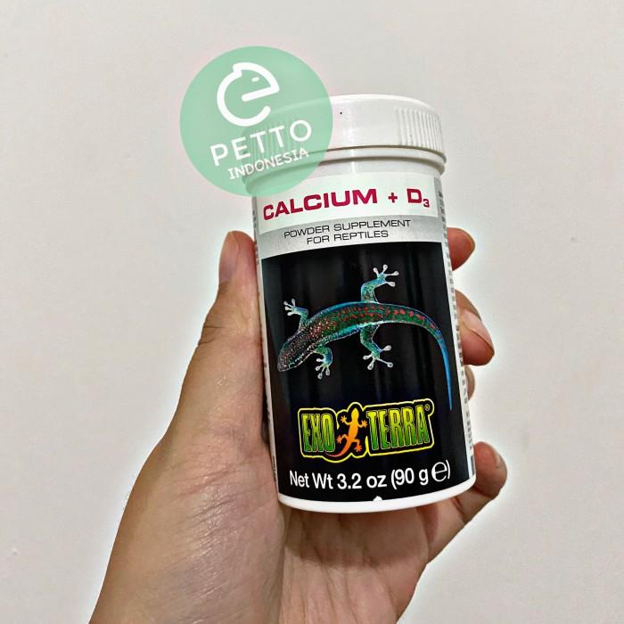 Foto Produk kalsium / calcium exoterra + D3 (kalsium bearded dragon, panana dll) dari c.c.factory