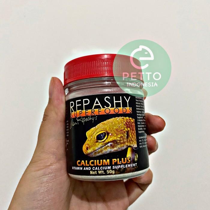 Foto Produk Repashy Calcium Plus 50gr multivitamin reptil bearded dragon gecko dll dari c.c.factory