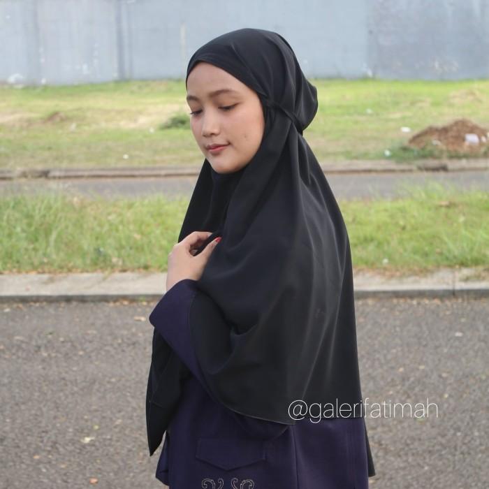 Jual Hijab Bergo Maryam Fatimah Part 2 Ukuran Jumbo Navy Jakarta Timur Galeri Fatimah Tokopedia