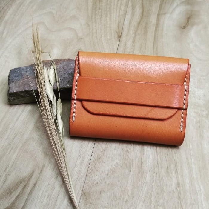 Foto Produk Leather Smart Pocket Wallet / Card Holder / Dompet Kulit Lokal dari Fresh Coconut Milk
