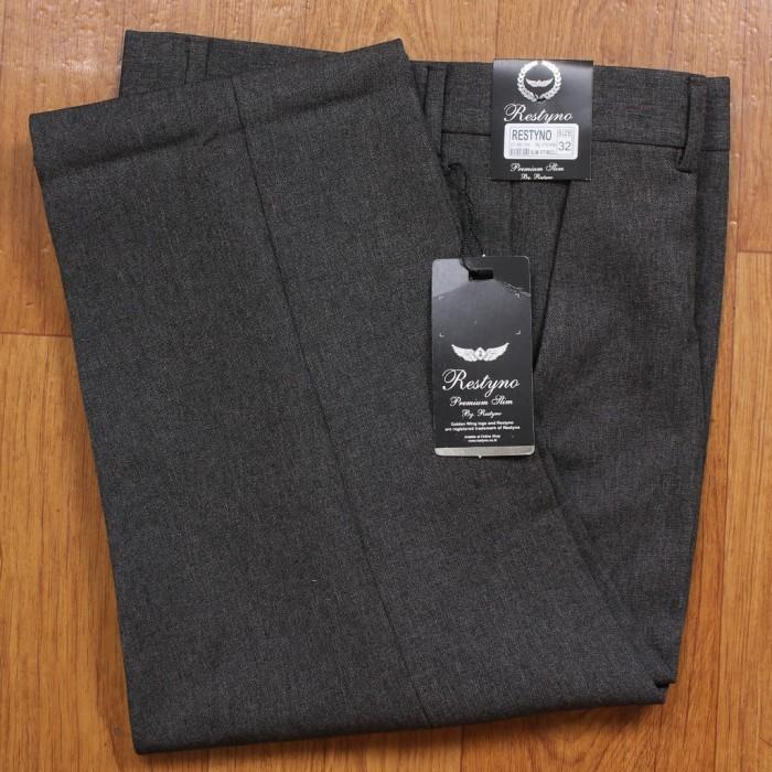 Foto Produk celana kantor pria slim fit - abu tua, 33 dari NISYHA_SHOP