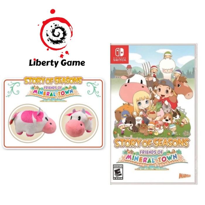 Foto Produk Nintendo Switch Story of Seasons Friends of Mineral Town dari Suyanto//Liberty Game