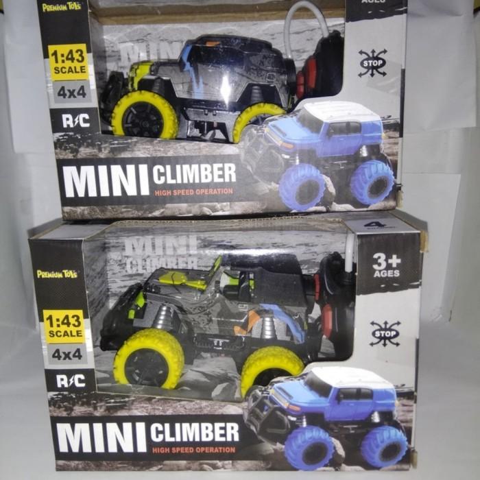 Foto Produk RC Rock Crowler Jeep Mini Car - Remote Control Offroad Mini Climber dari ZhafiraCorps
