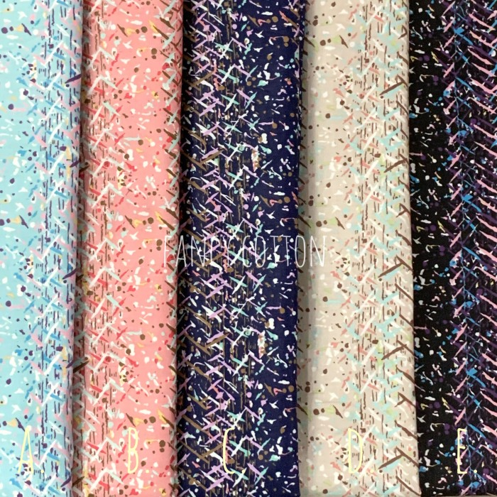 Foto Produk kain katun jepang motif - kode E dari maxshop online
